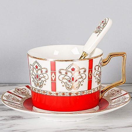 Taza de café con una Cuchara - Porcelana Premium - Hecho en China ...