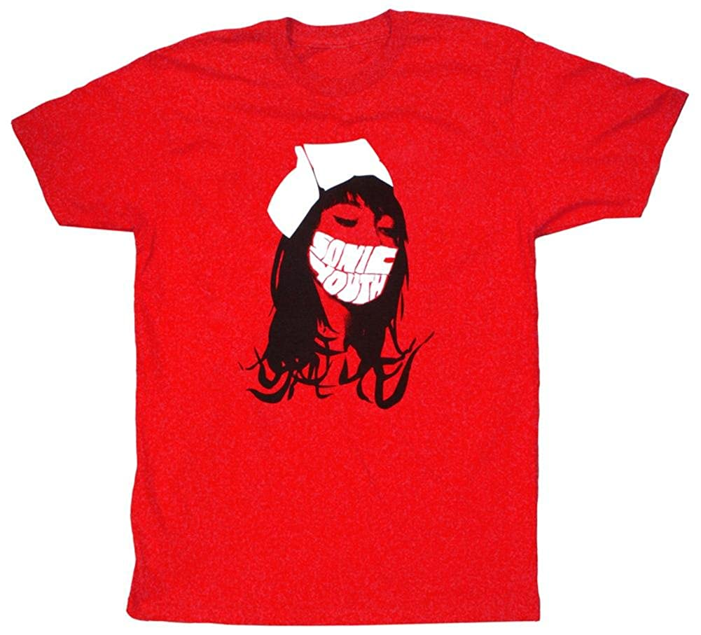 Sonic S Red Nurse Tshirt Red