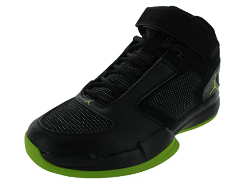 ec2afb91585 Nike Men's Jordan BCT MID Training Shoes 9 (Black/Brilliant Green ...