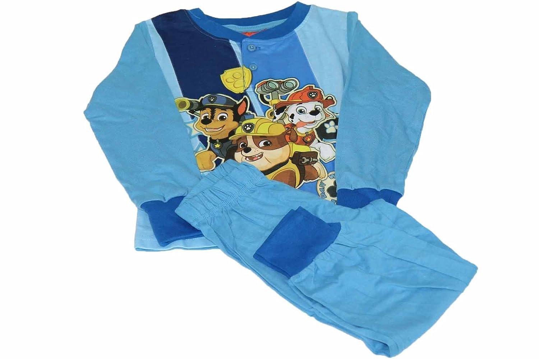 Pigiama Bimbo Tuta Bambino MARVEL PAW PATROL Originale Blu Royal Azzurro Cotone
