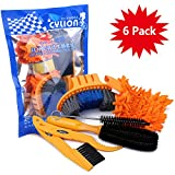 Oumers 6pcs Bike Bicycle Clean Brush Kit/Cleaning