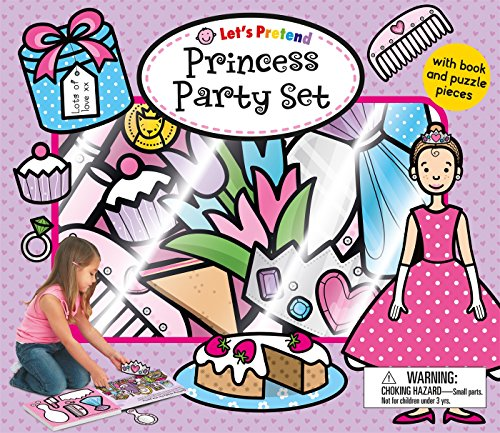 Let's Pretend Princess Party Set: With Book and Press-Out Pieces ()