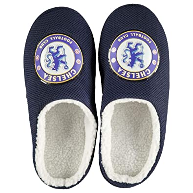 8f42b63e1e7 Bafiz Boys Football Team Cushioned Mule Slippers Size 3-6  Amazon.co ...