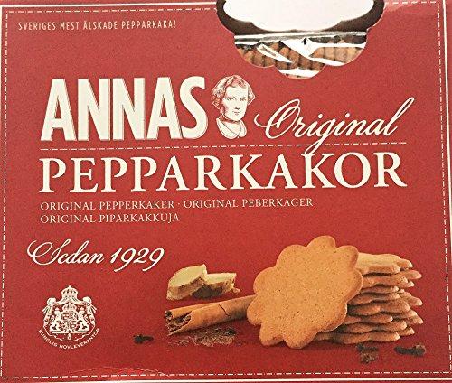 Annas Original Pepparkakor Gingerbread Cookies 2 X300g