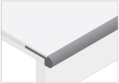 Moldings Online 2003778121 78u0026quot; X 2.75u0026quot; X 0.85u0026quot; Unfinished  Red Oak Stair Nose