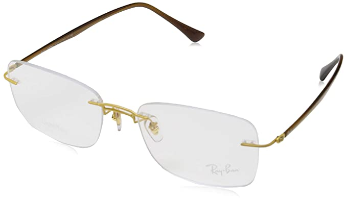 Amazon.com: anteojos Ray-Ban óptico Rx 8750 1194 oro: Clothing