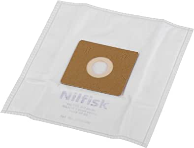 Nilfisk 78602600 Bolsas aspiradora, Blanco: Amazon.es: Hogar