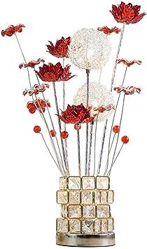 Práctico Y Simple Lámparas de Pie Lámparas Verticales Luz Nórdica Flor Creativa Lámpara de Mesa Práctica Y Simple Dormitorio Lámpara de Noche Sala de Estar Regalo de Boda Práctico Y Simple Interrupto: