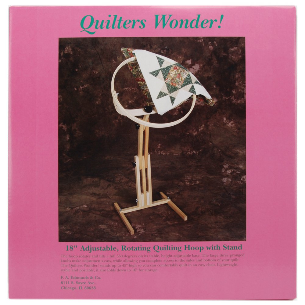 Edmunds 18-Inch Quilter's Wonder Hoop and Floor Stand 2645