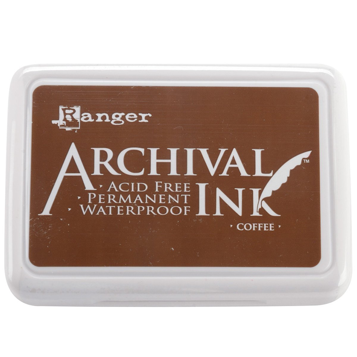 Ranger Archival Ink Pad Coffee  (6 Pack)