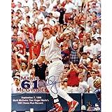 Steiner Sports MLB Saint Louis Cardinals Mark Mcgwire 61st Hr (16 x 20-inch)