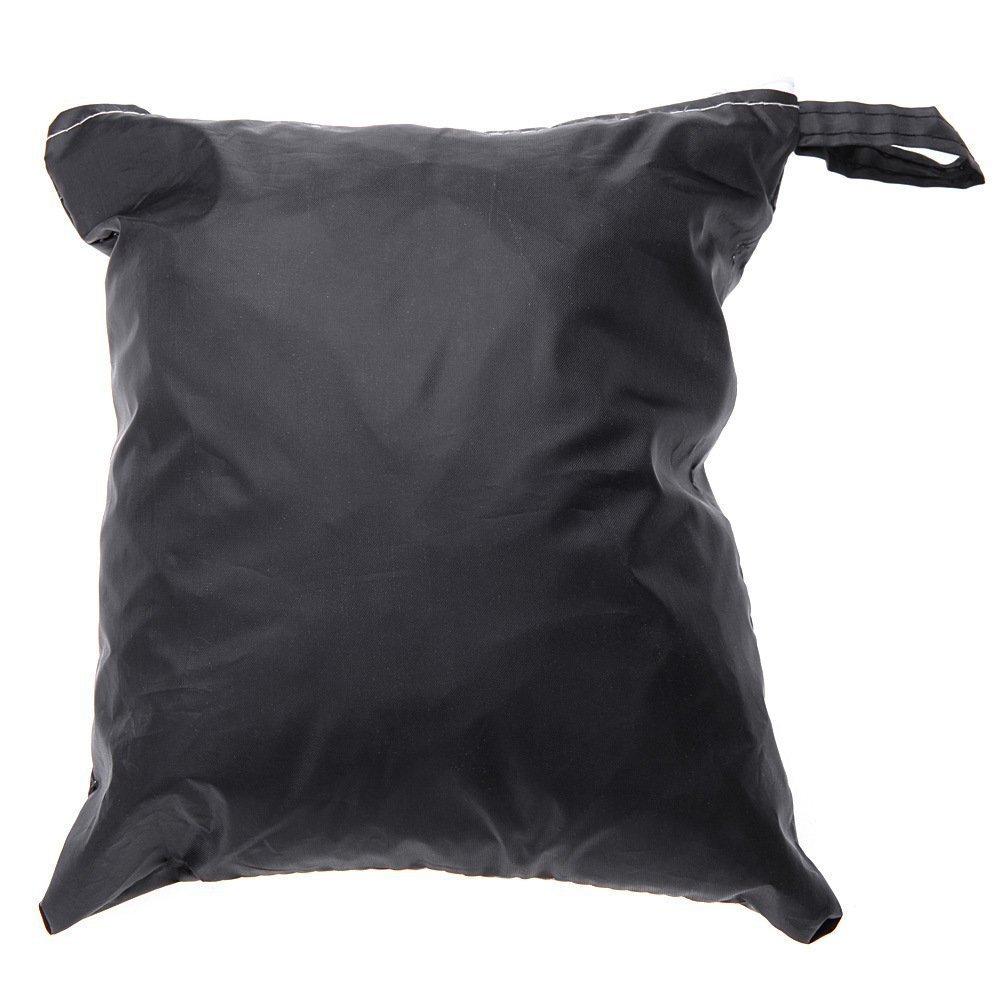 logei 2pcs Cubierta para Asiento de Coche Funda de Asiento Impermeable y Resistente,Negro