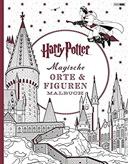 Harry Potter Magisches Malbuch Amazonde Panini Bcher