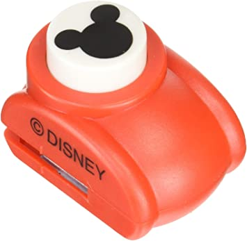 Japan Import Small and Large Disney Craft Paper Punches of Mickey Mouse Logo 2 Punches