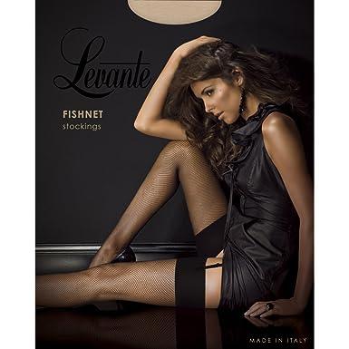 d596b3d49a8 Levante Fishnet Stockings  Amazon.co.uk  Clothing