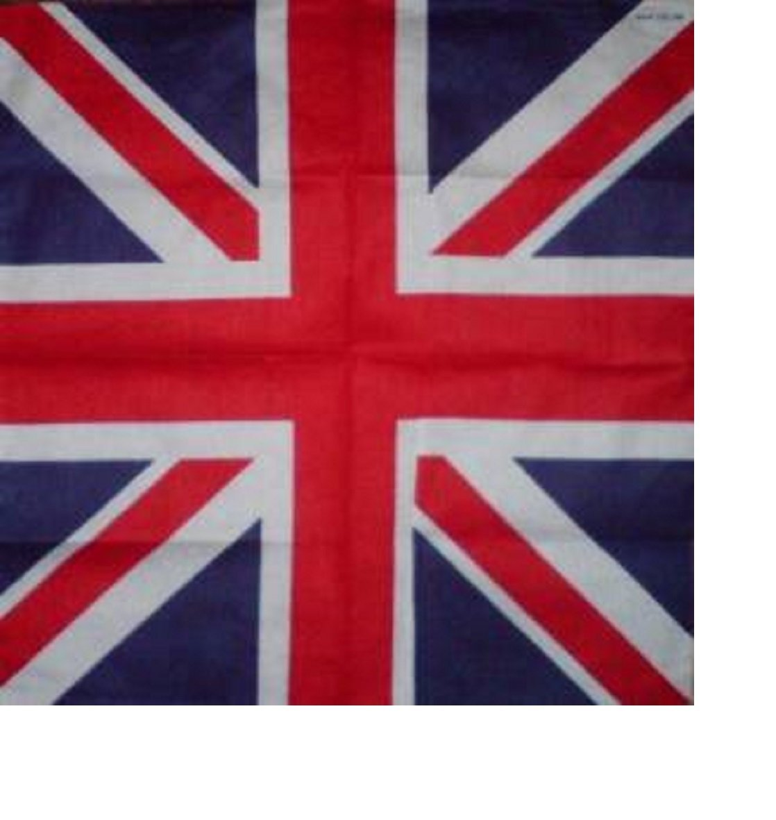 union jack bandana british flag cotton britain head neck scarf