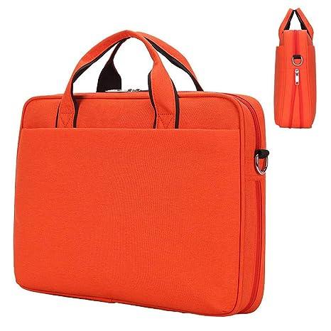 Maletín de Ordenador portátil para Hombres y Mujeres a Prueba de Golpes, maletín portátil,