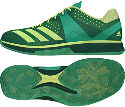 adidas Counterblast Chaussures de Handball Homme, Vert