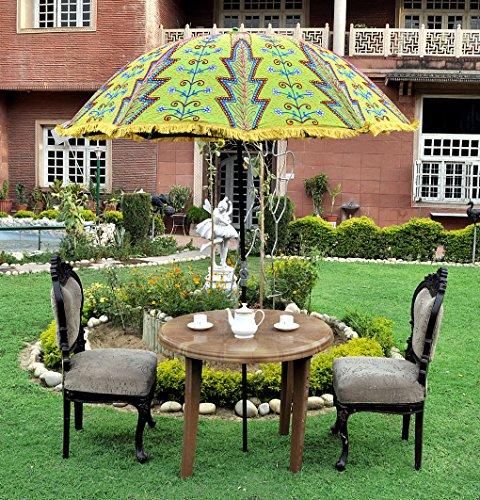 Lalhaveli Green Color Garden Umbrella India 52 X 72 Inches