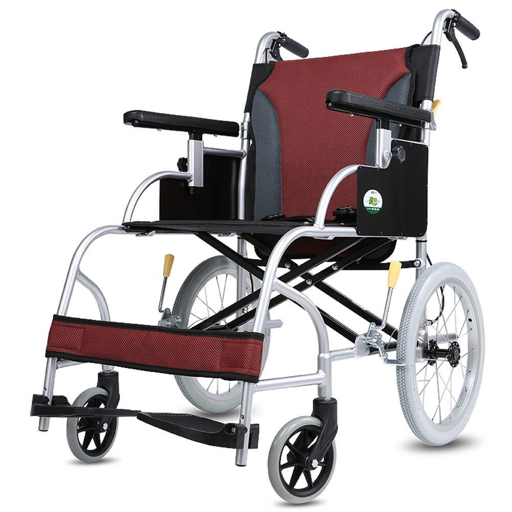日本最大級 FEIFEI アルミ合金携帯用車椅子折りたたみ式軽量高齢者用車いす B07GWR4NX5 FEIFEI B07GWR4NX5, 有田焼やきもの市場:f5e0effb --- a0267596.xsph.ru