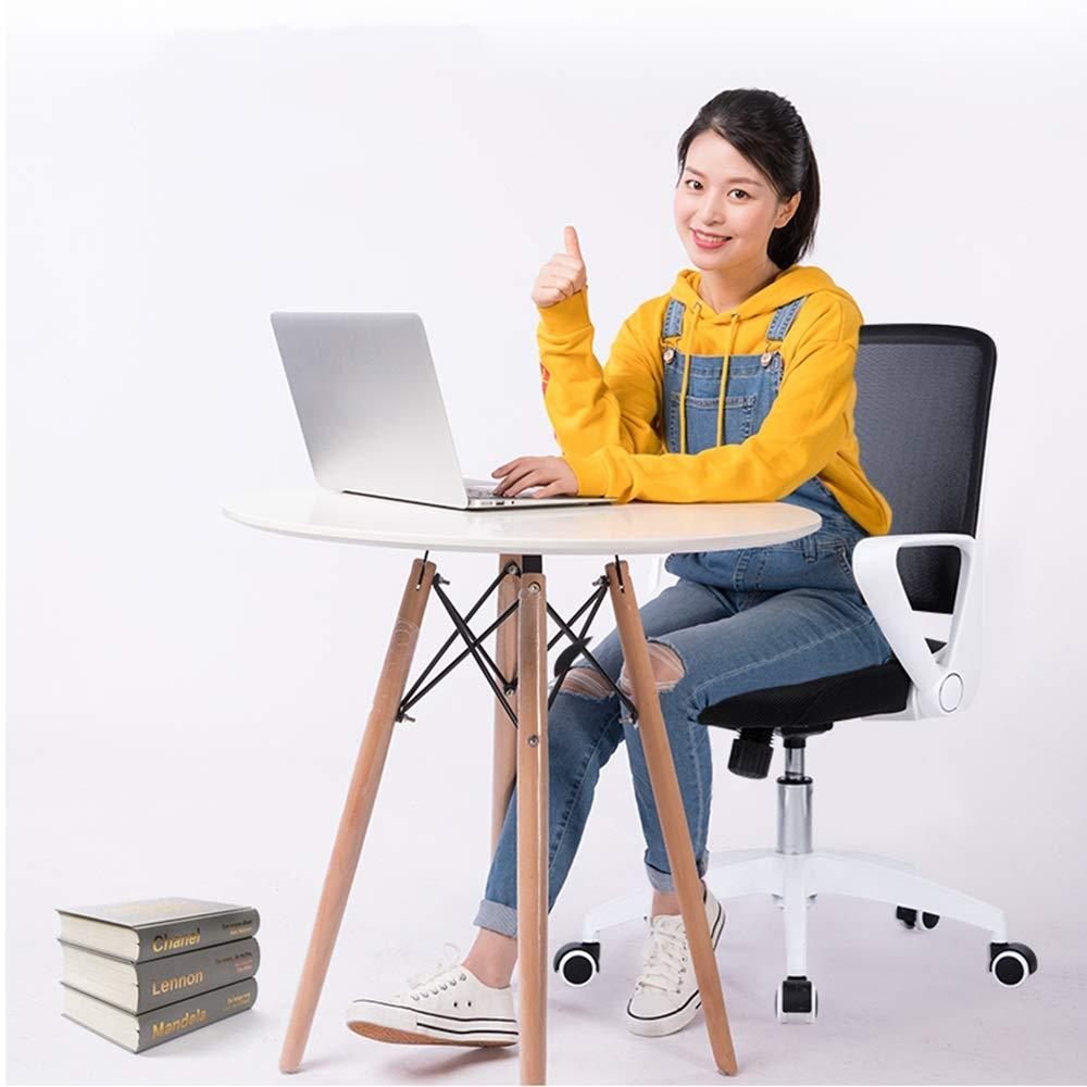 Barstolar Xiuyun datorstol explosionssäker pneumatisk stång hög densitet svamp fyllning kontor stol hushåll liten vridbar säker lastkapacitet modern enkelhet plast Vitt Vitt