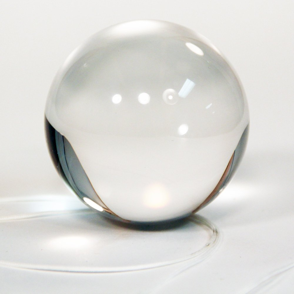 100mm Approx 4 SG/_B00P9GAF2S/_US Zeekio Clear Acrylic Contact Ball