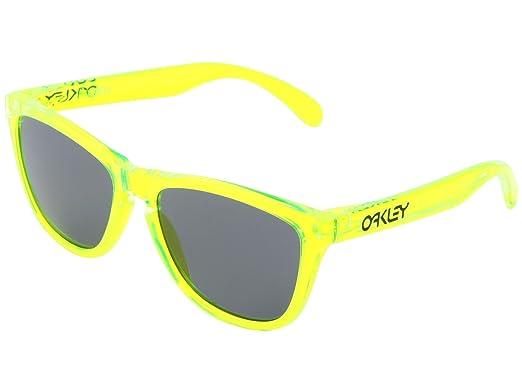 oakley green sunglasses 7ddy  Oakley Men's Acid Frogskins Sunglasses Acid Green, Grey