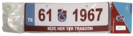 Trabzonspor Diffuseur De Parfum Pour Voiture Automobile 61 1967