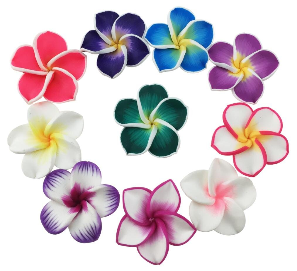 Beautiful-Colorful-Mini-Diameter-14-Artificial-Frangipani-Plumeria-Hawaiian-Flower-50-Pieces-For-Wedding-Party-Home-Office-Decoration-Handwork-Mothers-Day-Gift-Assorted-Color