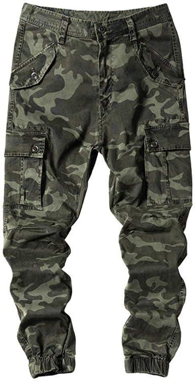 Donna Cotone Camouflage Pantaloni Militari da Lavoro Esterno