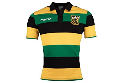 Northampton Saints M16 Rugby Traditional Cotton Rugby Shirt SS SR