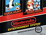 Duck Hunt / Super Mario Bros Instruction Booklet (Manual Only - NO GAME)