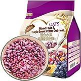 悦享心之味 紫薯水果麦片干吃即食低糖早餐冲饮混合谷物燕麦片代餐 600g(进口)
