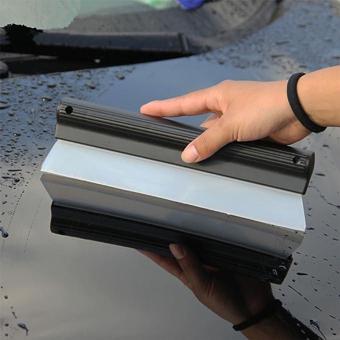 1 paar Silikon Auto Wasser Wischer Abzieher Blade Dry Pflege Fenster Glas Clean