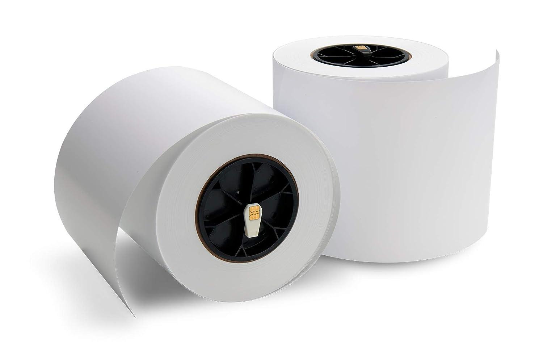 Primera Impressa IP60 光沢写真用紙 2ロール 8ミル 約 1ロールあたり500 4インチ x 6インチの印刷。 B07HKM463Q