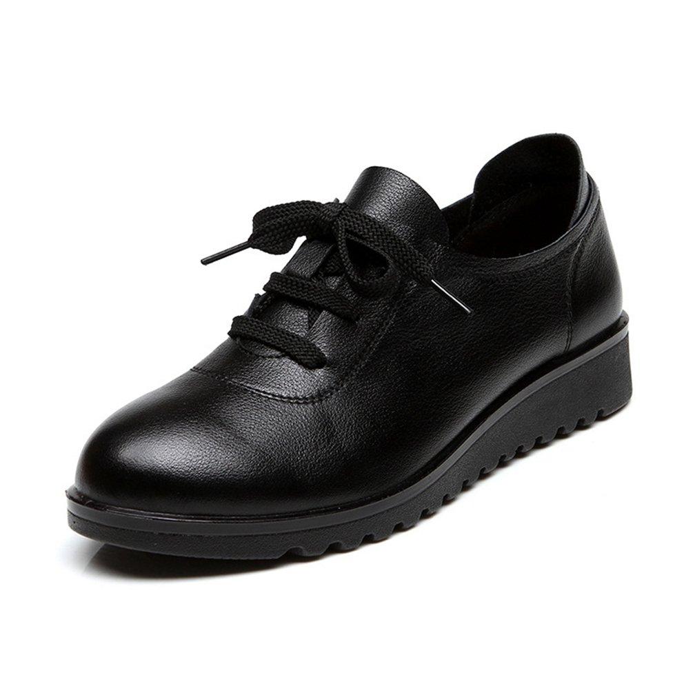 LFEU - Zapatos de Vestir de Otra Piel Mujer 38 EU|Negro