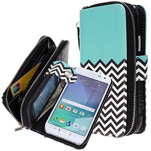 Galaxy S6 Active case, E LV Samsung Galaxy S6 Active Case Cover - PU Leather Flip Folio Wallet Purse Case Cover for Samsung Galaxy S6 Active (ONLY Compatible with Samsung S6 Active Version)