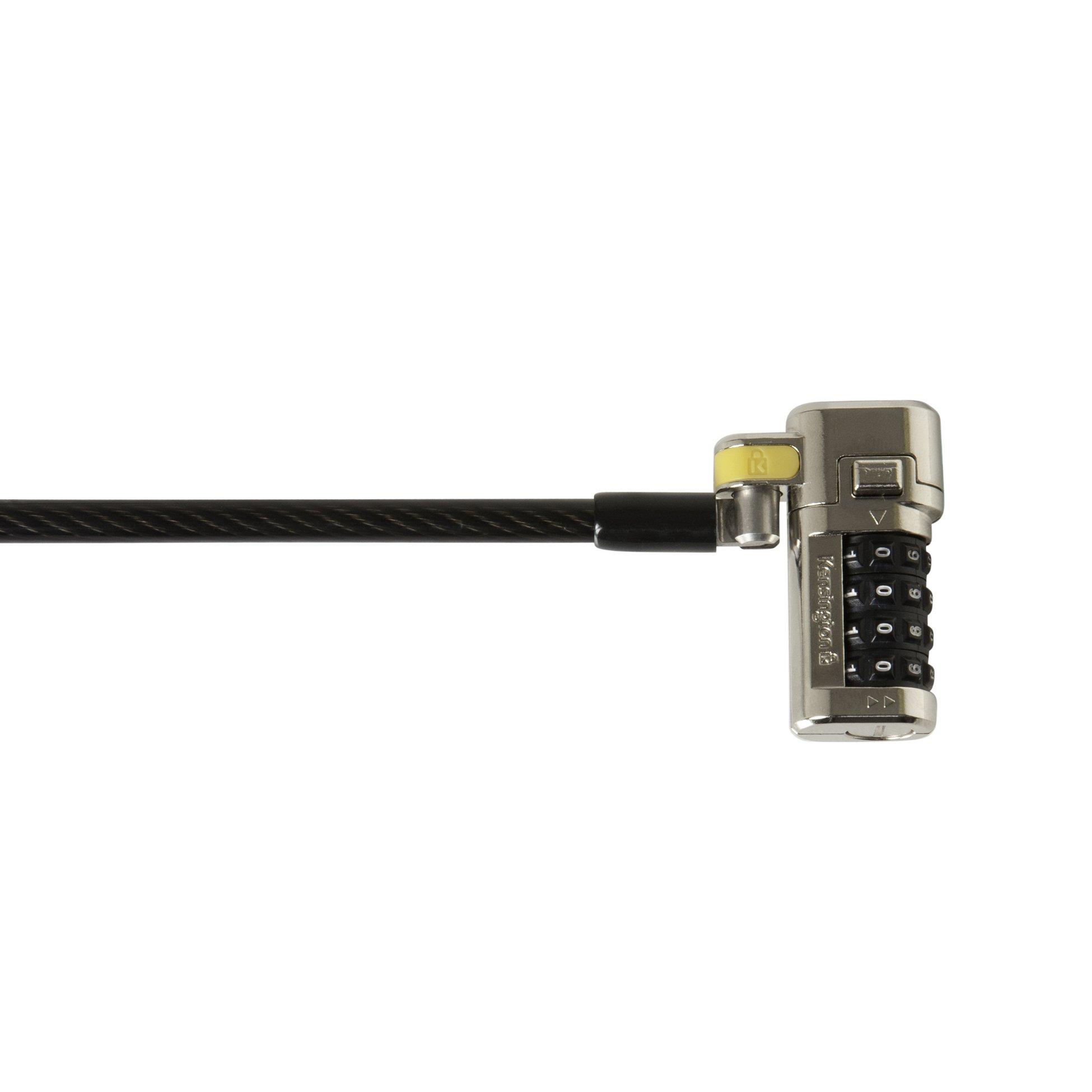 Kensington Clicksafe Master Coded Combination Ultra Laptop Lock (K64681US)