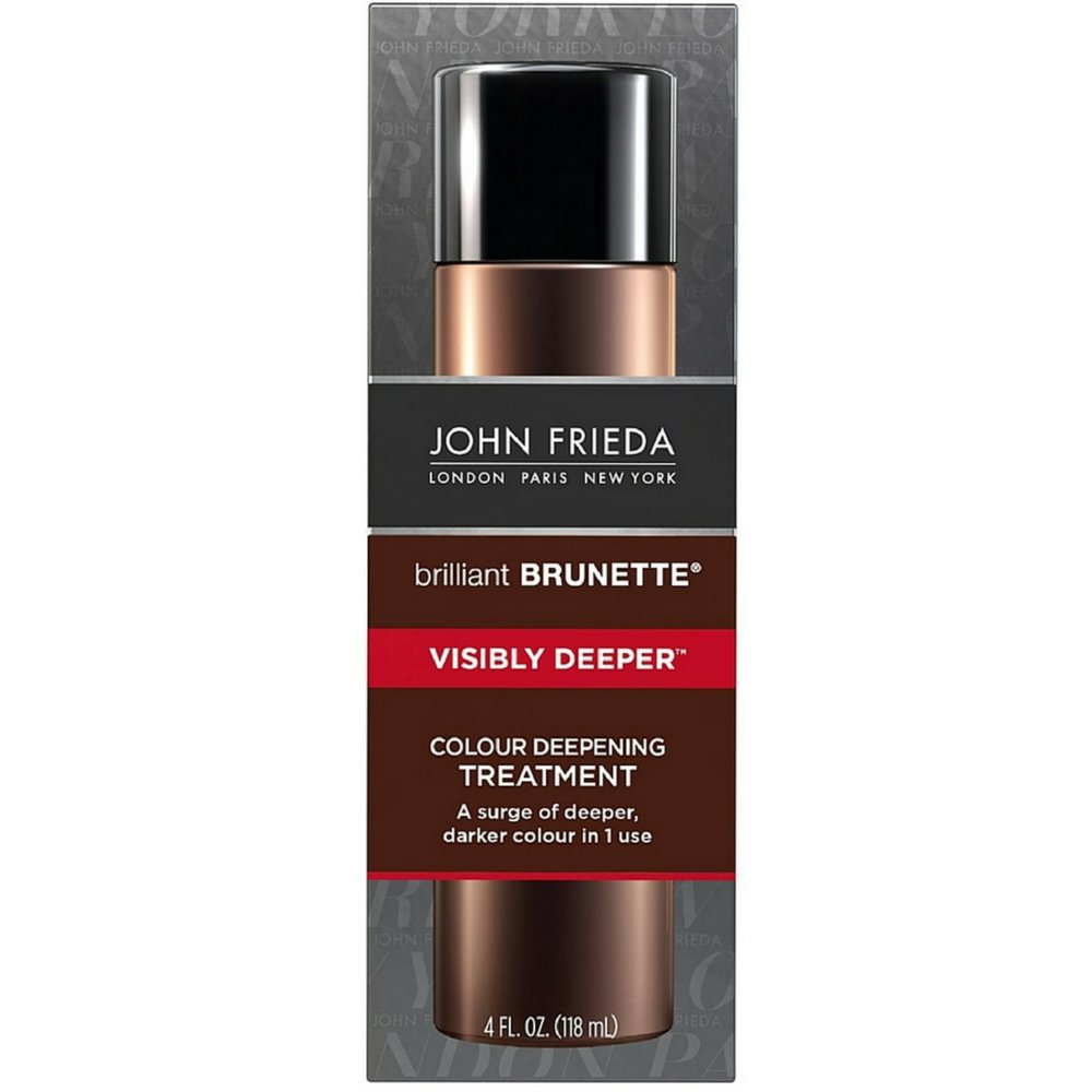John Frieda Brilliant Brunette Treatment Visibly Deeper 4 Ounce (118ml) (2 Pack)