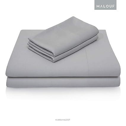 Amazon Com Malouf 100 Rayon From Bamboo Sheet Set 4 Pc Set