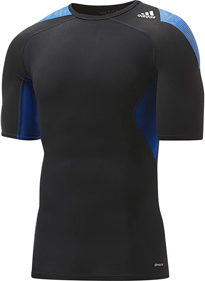 Inspeccionar corriente Dictar  adidas - Camiseta térmica - Camiseta - para Hombre, Color Negro, tamaño XS:  Amazon.es: Deportes y aire libre