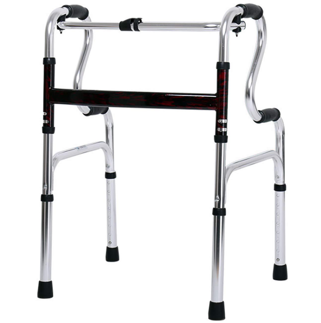 Tochange Älterer gehender Rahmen, faltendes Leichtes Aluminiumgehendes Hilfsmittel, Justierbare Höhe