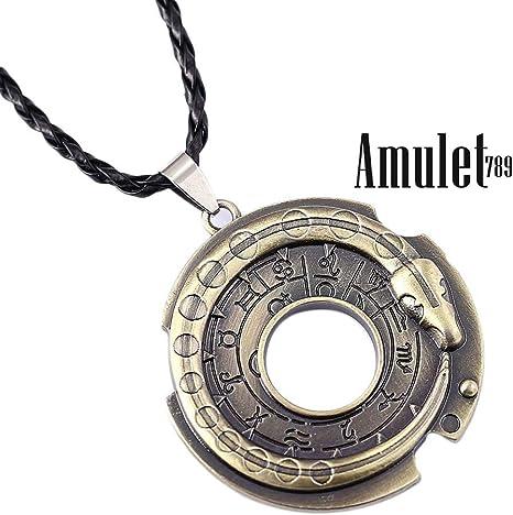 Amazon Com Assassins Creed Chain Necklace Connor Amulet Pendant