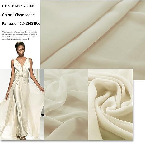 Light Weight Multicolour Silky Chiffon  Print Fabric Dress Craft wedding light
