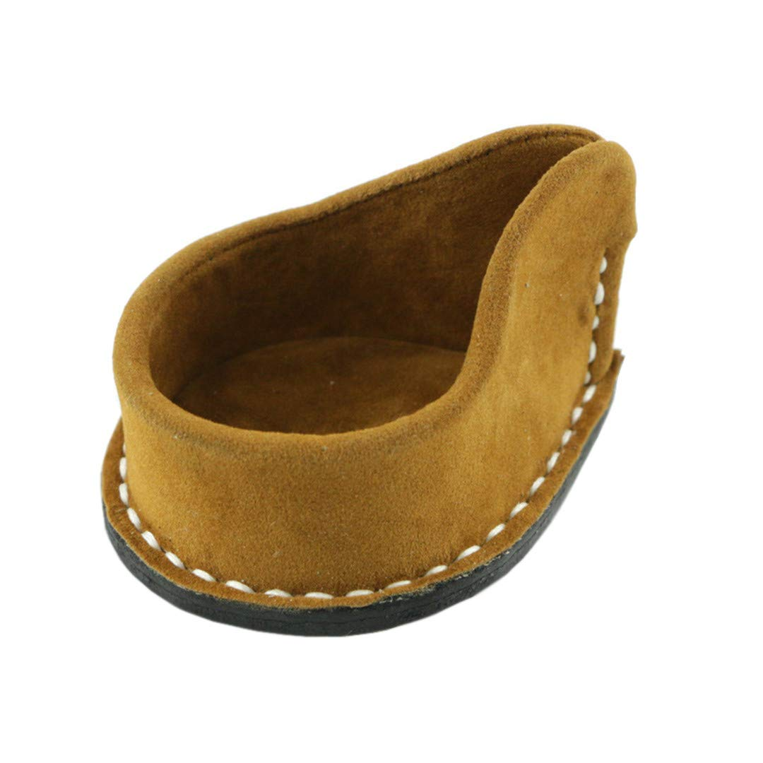 Tobacco Pipe Stand for Single Smoking Pipe - Cowhide Material Sofa Seat Type Tobacco Pipe Rack Holder by Liang