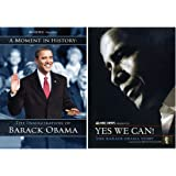 President Barack Obama 2 DVD Set: Inauguration of Barack Obama A Moment of History / NBC News Presents Yes We Can! The Barack