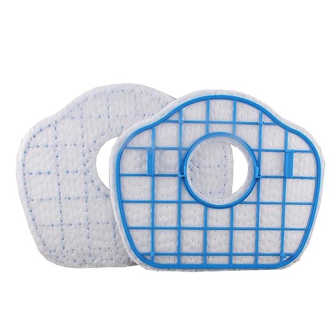 TeKeHom Paquete de 2 Repuestos de los filtros HEPA de aspiración Reemplazo de la aspiradora para Philips SmartPro Active FC8710 / FC8700 / FC8715 / FC8603: ...