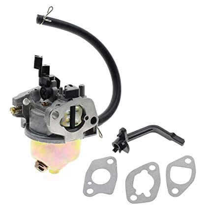 Carburetor for Champion Power Equipment 3500 4000 Watts Gas Generator Fits Models 46558 46561 46596 46533 46534 46535 with Fuel Line Gaskets