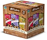 180 Snacks Nut Crunch Variety Pack, 21 individual bags (7 Blueberry Pomegranate, 7 Cashew Crunch, and 7 Cranberry Pomegranate)