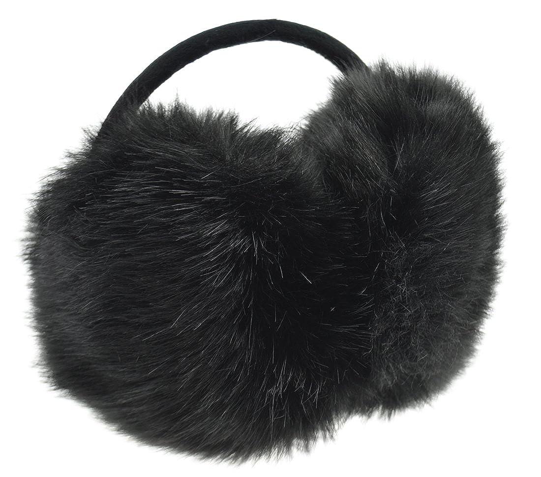 FiveSeasonStuff Soft Plush Covered Earmuffs / Ear Muffs / Ear Warmers